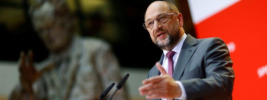 Martin Schulz / Bild: REUTERS