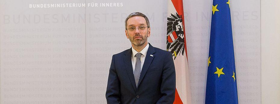 Innenminister Herbert Kickl (FPÖ) / Bild: (c) Akos Burg (Presse)