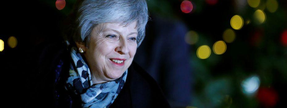 Die britische Premierministerin Theresa May / Bild: Reuters (Eddie Keogh)