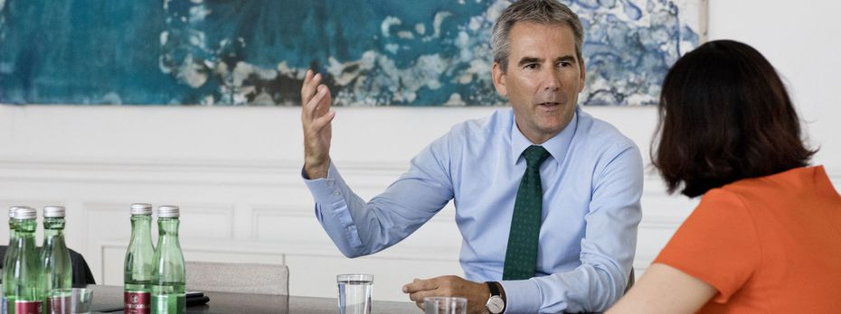 Finanzminister Löger macht mit der Aufsichtsreform ernst.  / Bild: (c) Michele Pauty