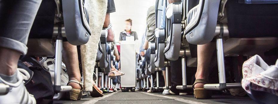 Das Fliegen hat für viele Reisende an Charme eingebüßt. / Bild: (c) imago/Martin Bäuml Fotodesign (Martin Bäuml Fotodesign)