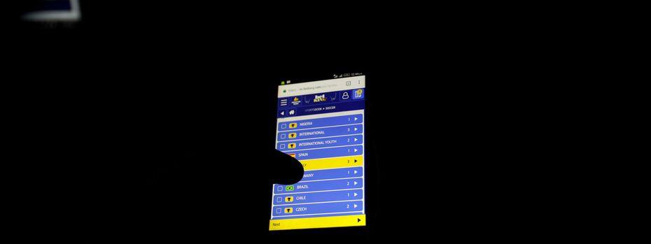 Vor allem Online-Wettplattformen erwiesen sich als Goldgrube. / Bild: (c) REUTERS (Akintunde Akinleye)