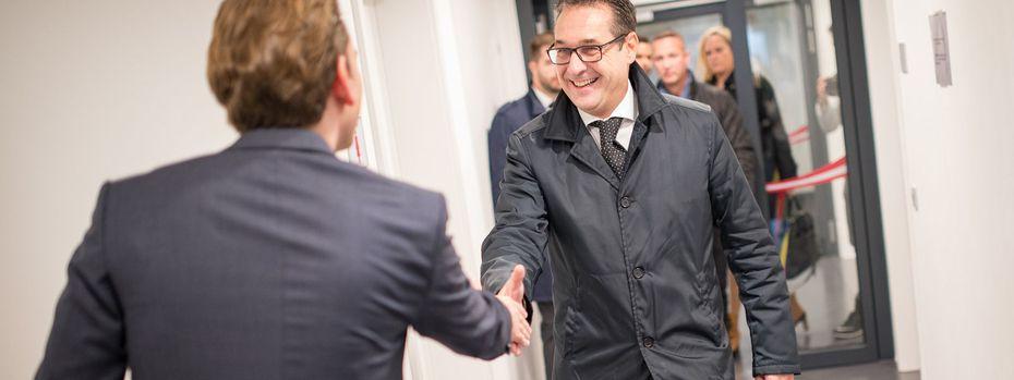 Koalitionsgespräche ÖVP - FPÖ / Bild: NEUE VOLKSPARTEI/JAKOB GLASER