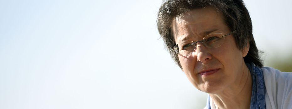 Die stellvertretende Bundessprecherin der Grünen, Regina Petrik / Bild: APA/HERBERT P. OCZERET