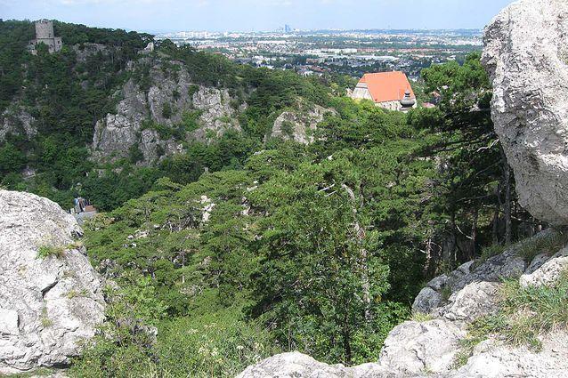Mödlinger Klettersteig : Frauensteinberg in mödling klettersteig für einsteiger