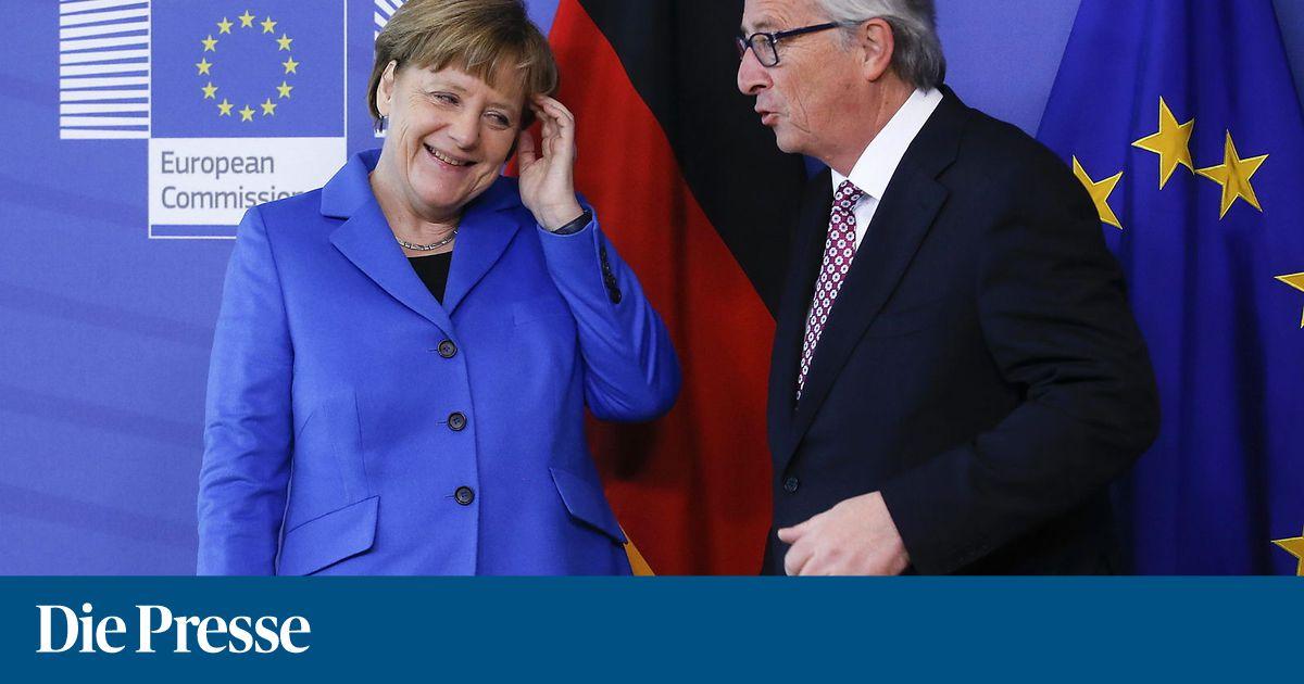 Juncker bringt Merkel für EU-Amt ins Spiel