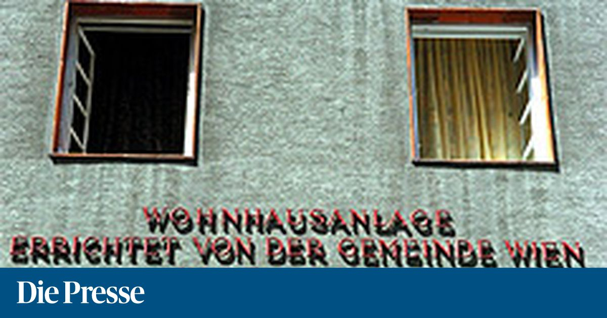 Wiener Wohnen Vor Monopol Verlust Diepressecom