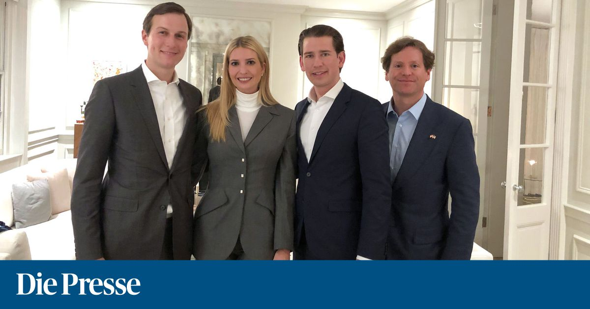 Kurz sprach mit Kushner über dessen Nahost-Friedensinitiative