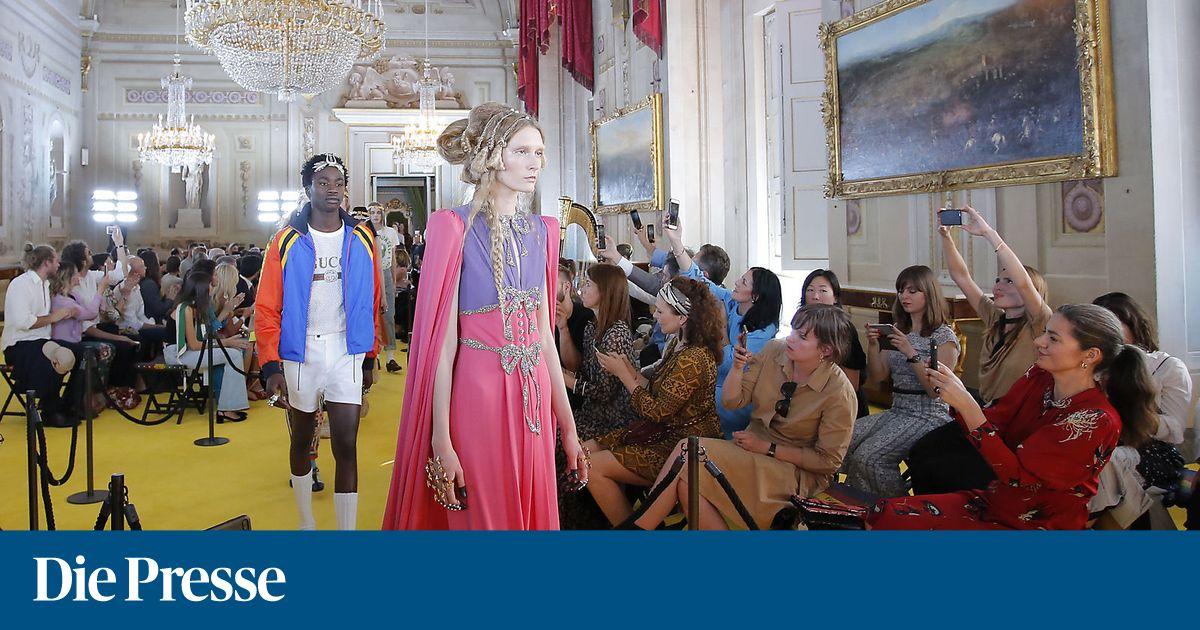 Cruise Collection 2018 von Gucci: Grellbunter Spaß an der Anti-Mode ...