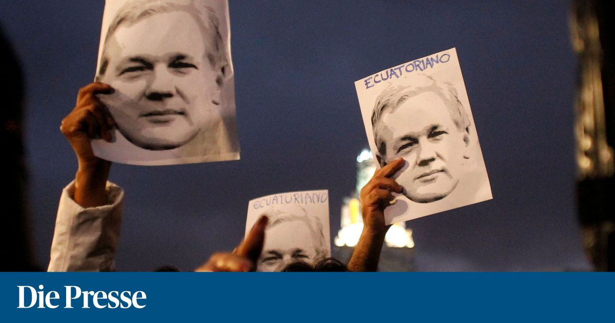 Wikileaks-Gründer Julian Assange in den USA angeklagt