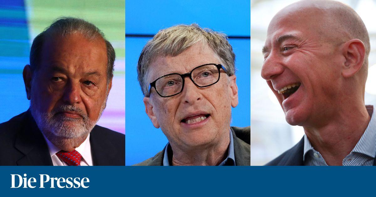 Forbes Liste 2018 Die Reichsten Menschen Der Welt Diepressecom