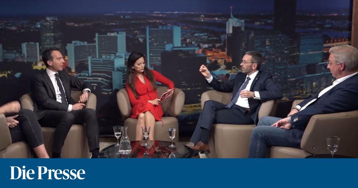 Das Gefährliche Wien In Der Neuen Talkshow Der Krone