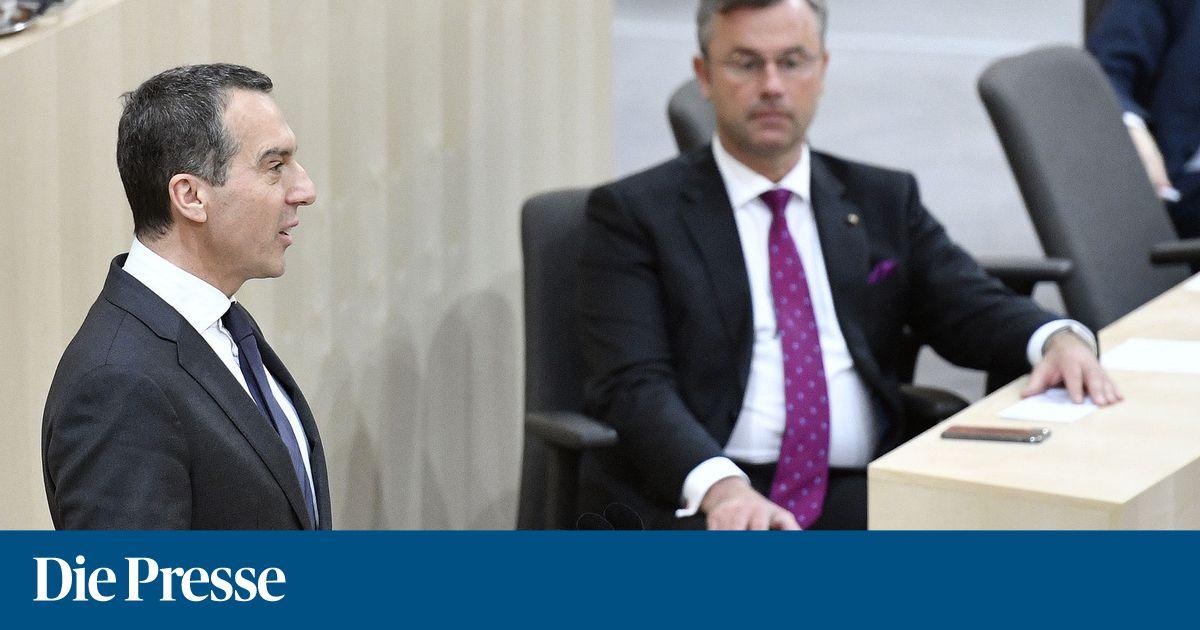 Neue Jobs: Christian Kern wird Präsident, Norbert Hofer sein Vize