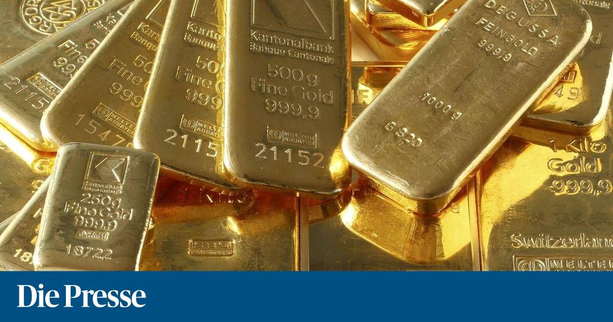 Der Goldpreis Rutscht Schon Wieder Ab Diepressecom