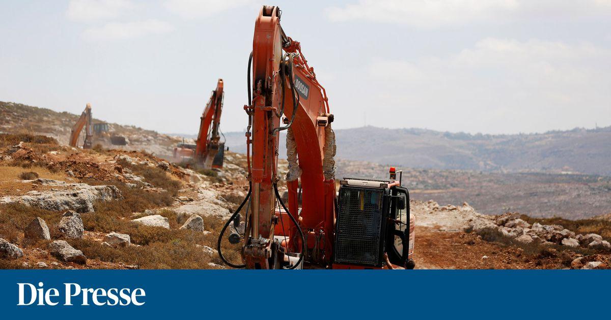 Israel beginnt Bau von erster Siedlung in Westbank seit 1991