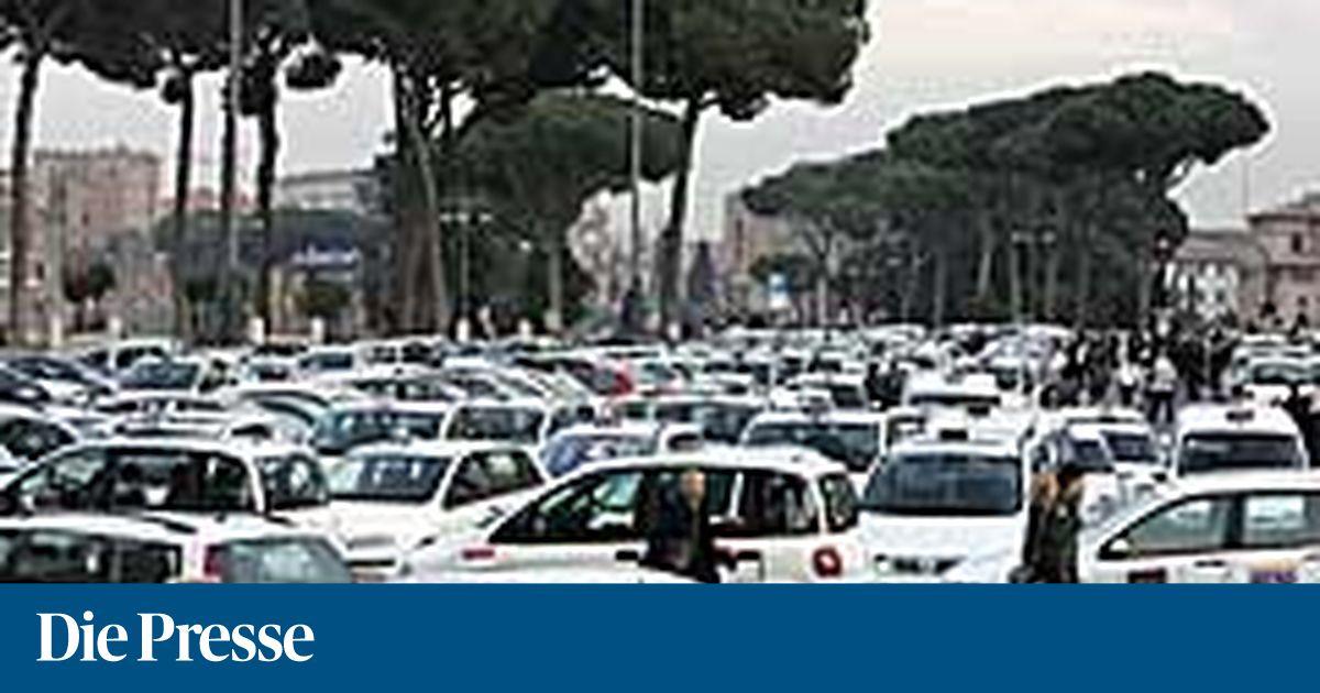 taxi streik in rom verkehrschaos in der ewigen stadt. Black Bedroom Furniture Sets. Home Design Ideas
