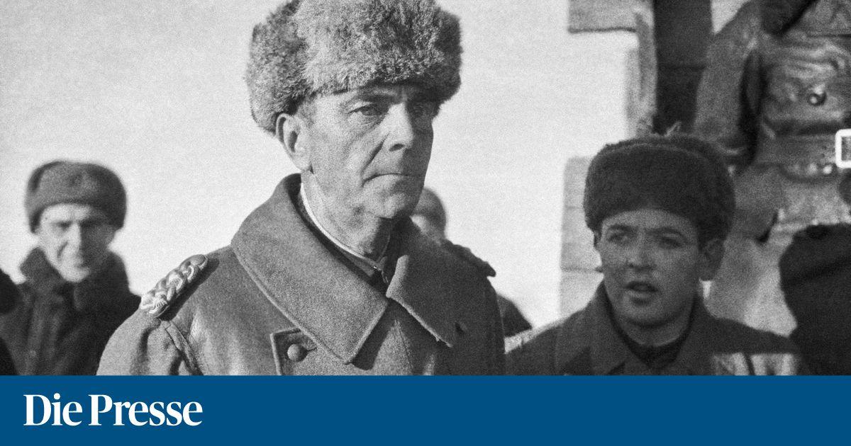 Als Die Hakenkreuzfahne Uber Stalingrad Verschwand Diepresse Com