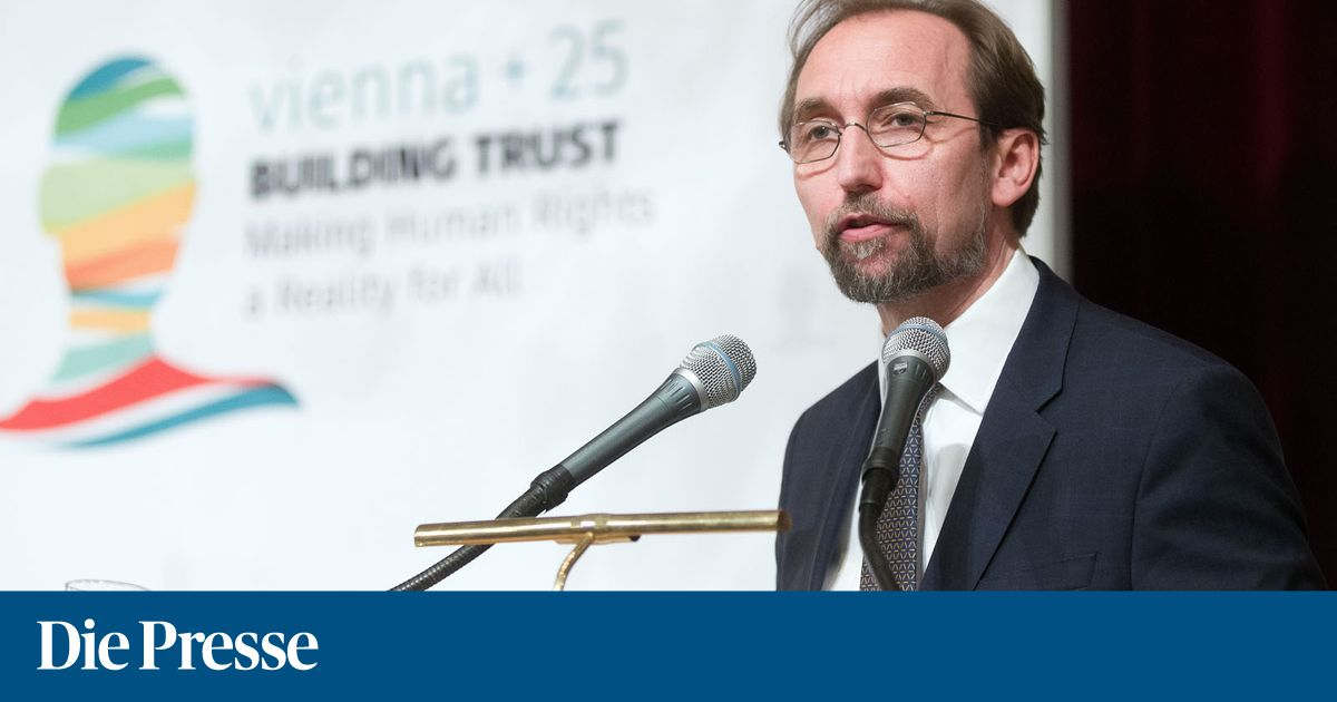 Menschenrechtskonferenz auenministerium bmeia vienna25 building trust   making human rights a reality for all zeid raad al hussein 1527005284023611