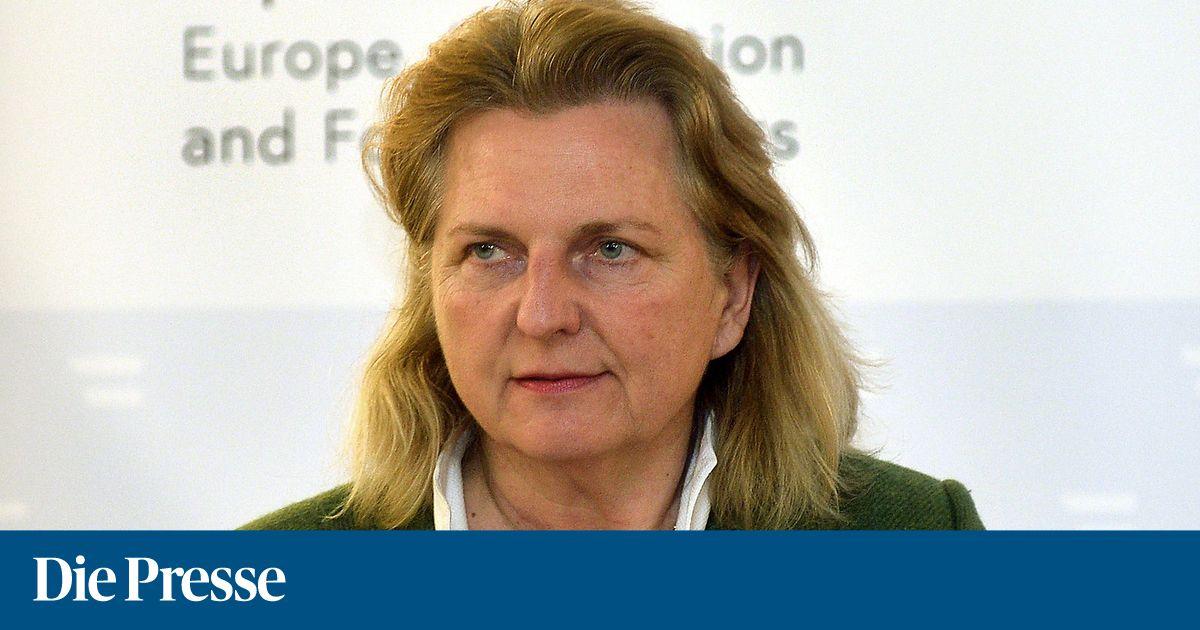 Kneissl kritisiert EU-Politik gegenüber Israel
