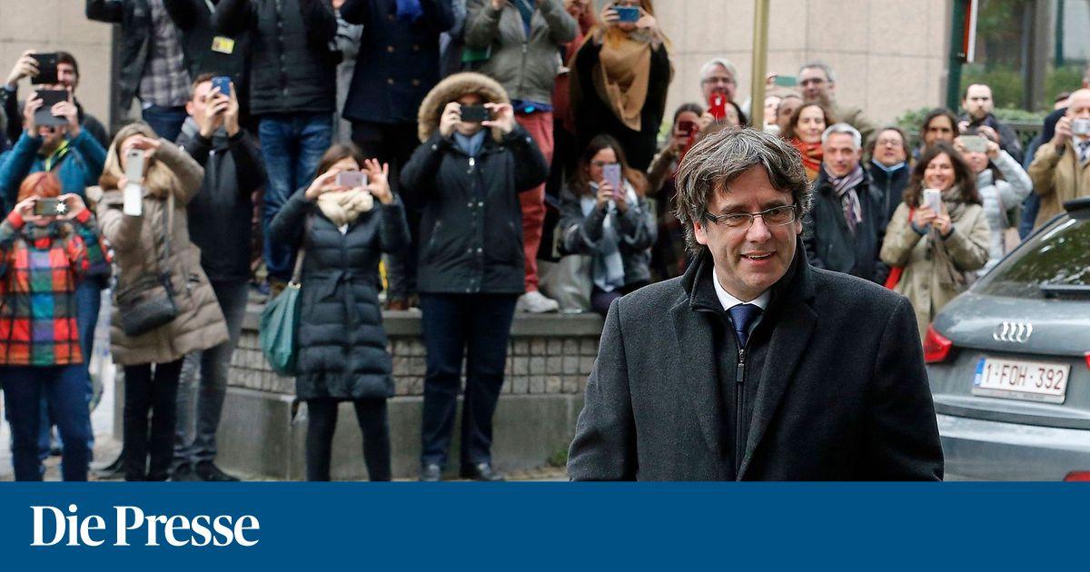 Puigdemont in Belgien gegen Auflagen auf freiem Fuß