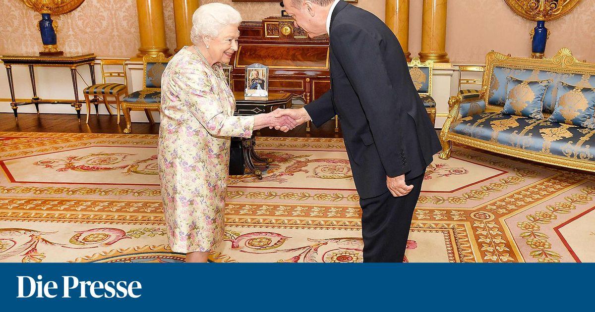 Erdogan traf Queen in London
