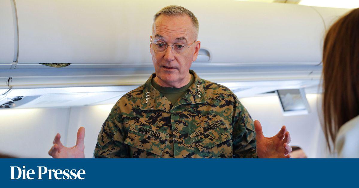 Spitzenmilitärs Russlands und der USA in Wien