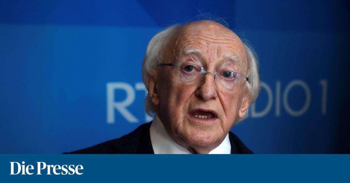 Irischer Präsident Higgins wiedergewählt