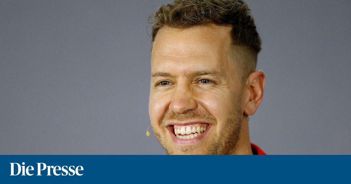 Neue Frisur So Wuschelig Sieht Sebastian Vettel Nicht Mehr Aus