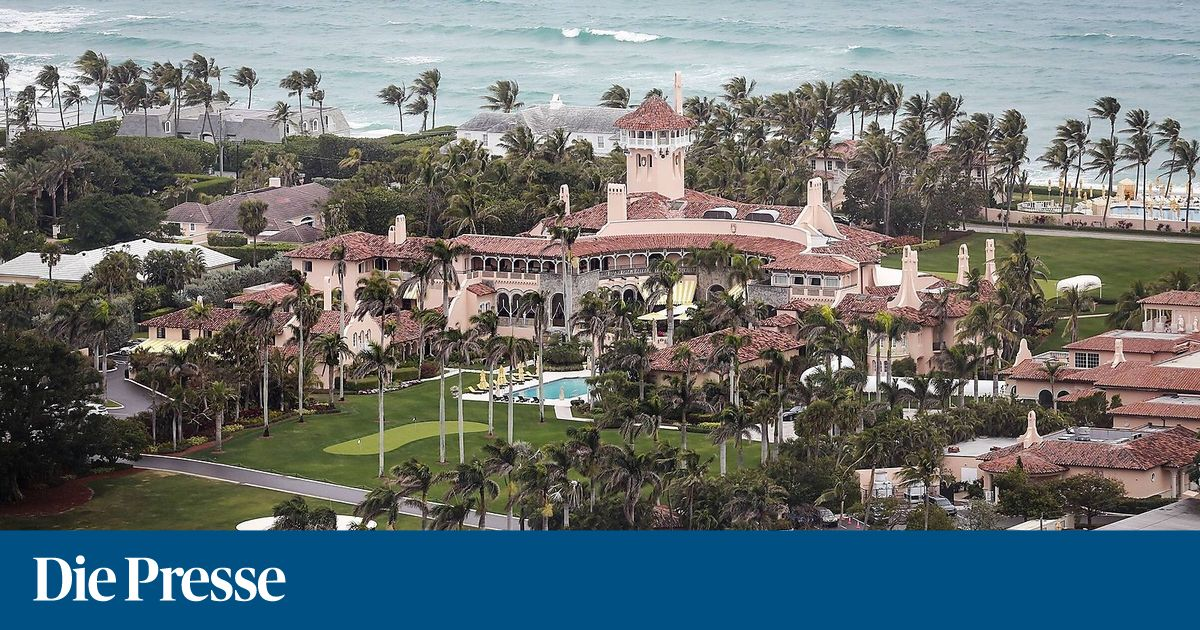 Chinesin mit Computerviren in Trumps Resort Mar-a-Lago festgenommen