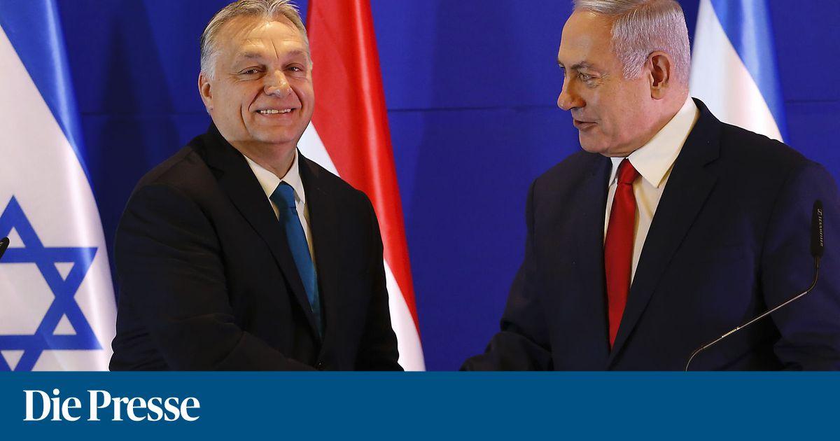 Orbán drängt auf engere Beziehungen zu Israel