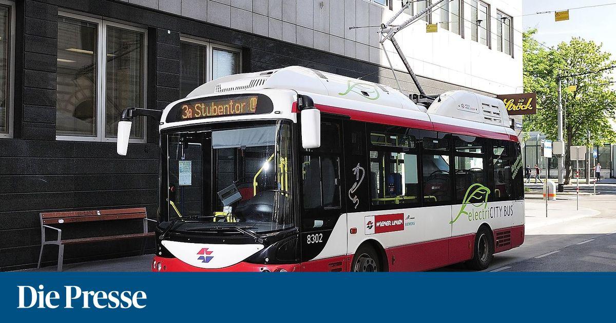 Wien kauft erstmals große Elektrobusse