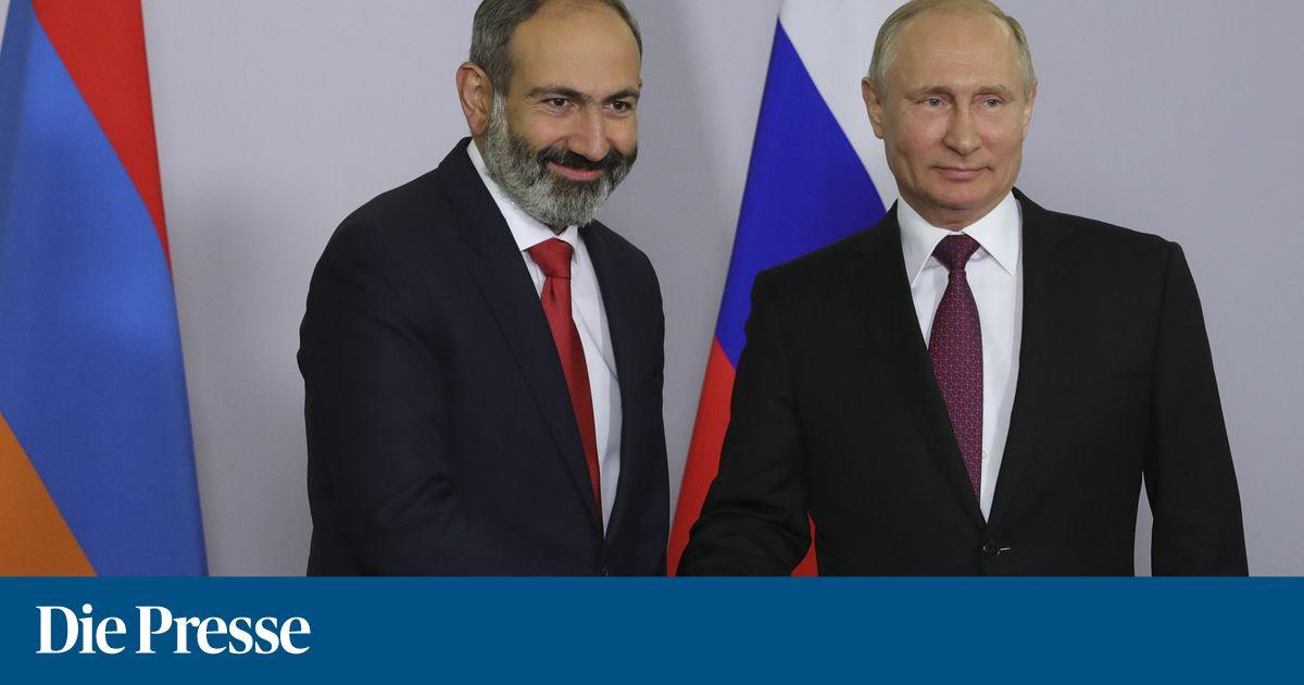Paschinjan und Putin setzen auf Kooperation
