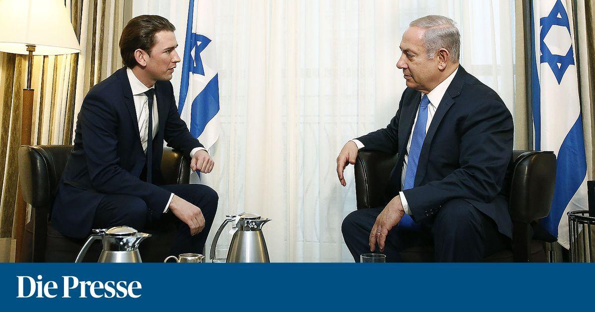 Kurz hofft auf baldiges Ende von Israels Kontaktsperre zu FPÖ-Ministern