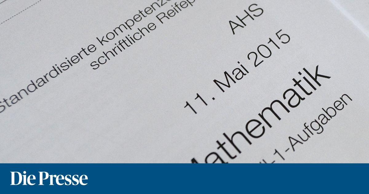 Mathematik-Zentralmatura: Leichte Pflicht, textlastige Kür ...