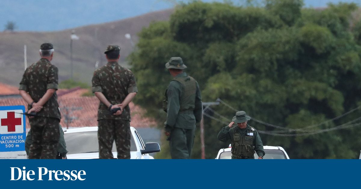 Venezuela-Krise: Mehr als 330 Militärs und Polizisten desertiert
