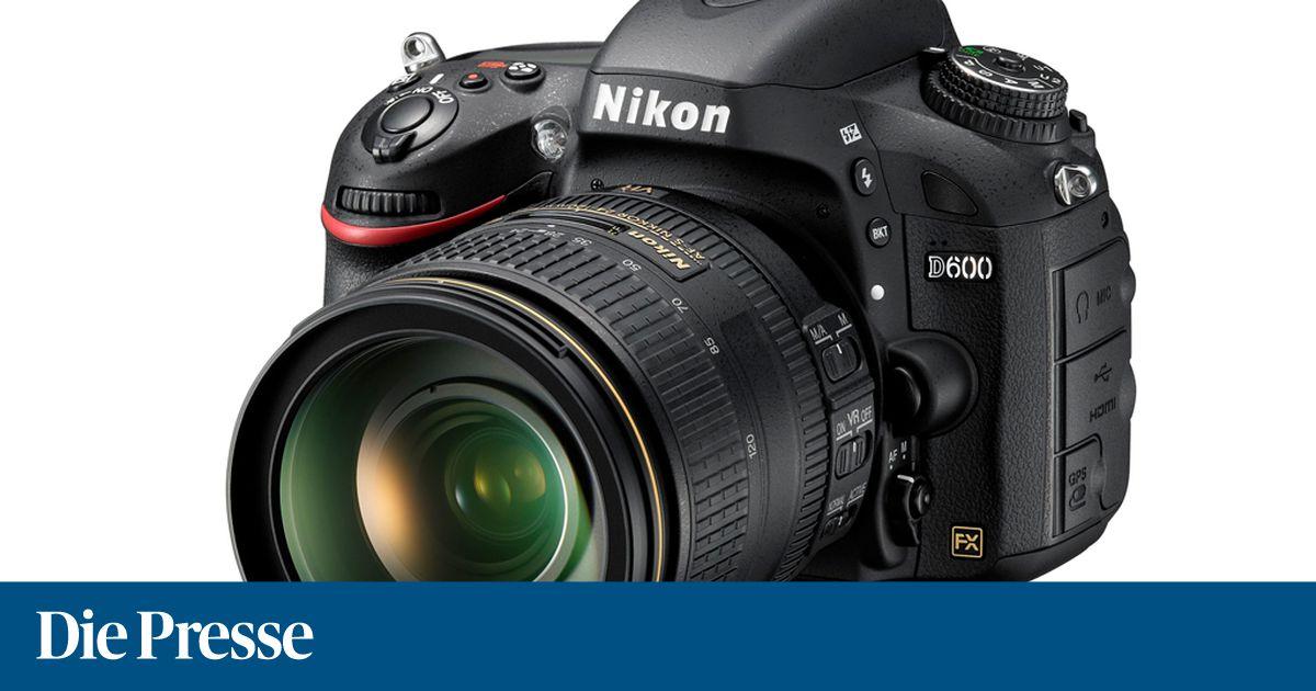 Nikon D600: Neue Vollformat-Kamera vorgestellt « DiePresse.com