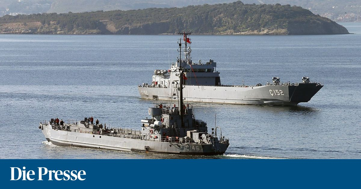 """Türkei startet bisher """"größtes Marinemanöver"""""""