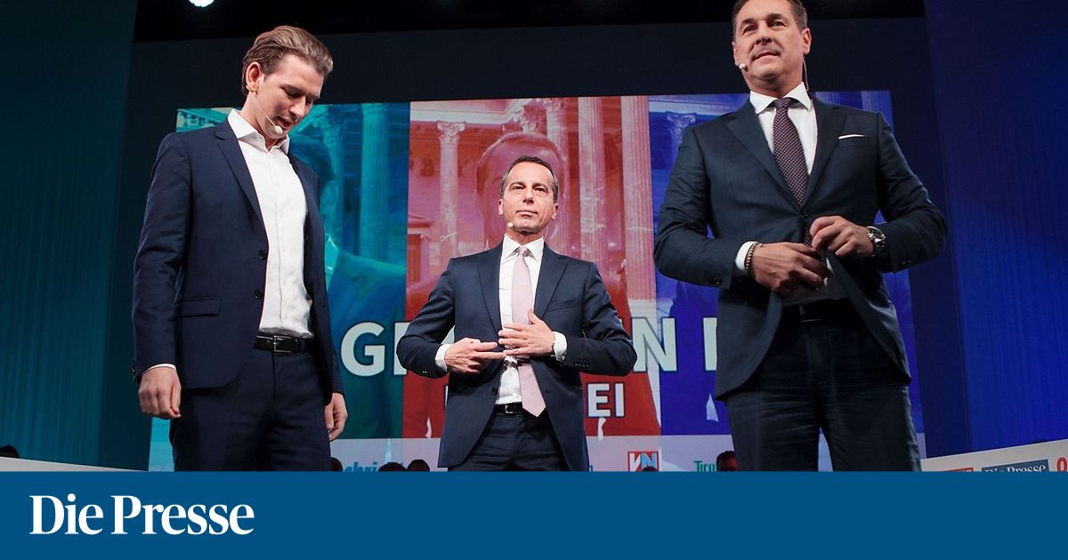 FPÖ überholt SPÖ bei der Sonntagsfrage