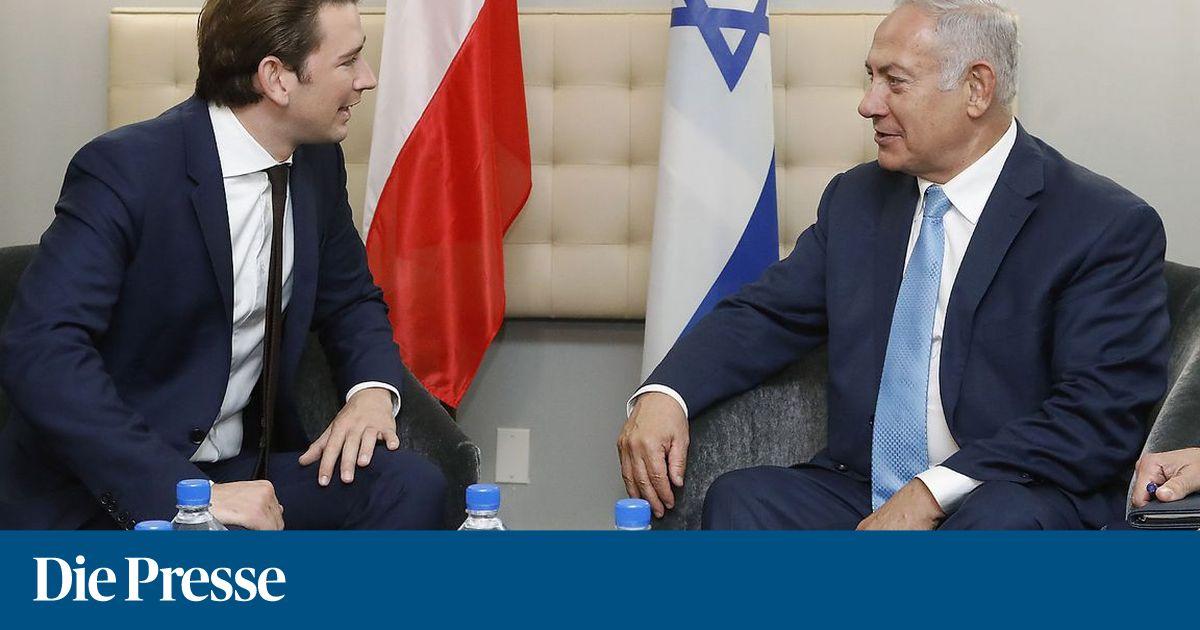"""""""Staatsräson für Österreich"""": Kurz reist nach Israel"""