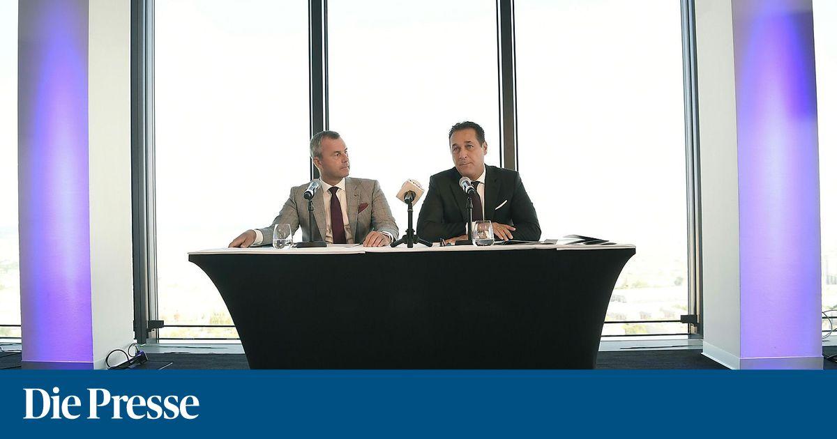 """Strache spricht von """"Bevölkerungsaustausch"""""""