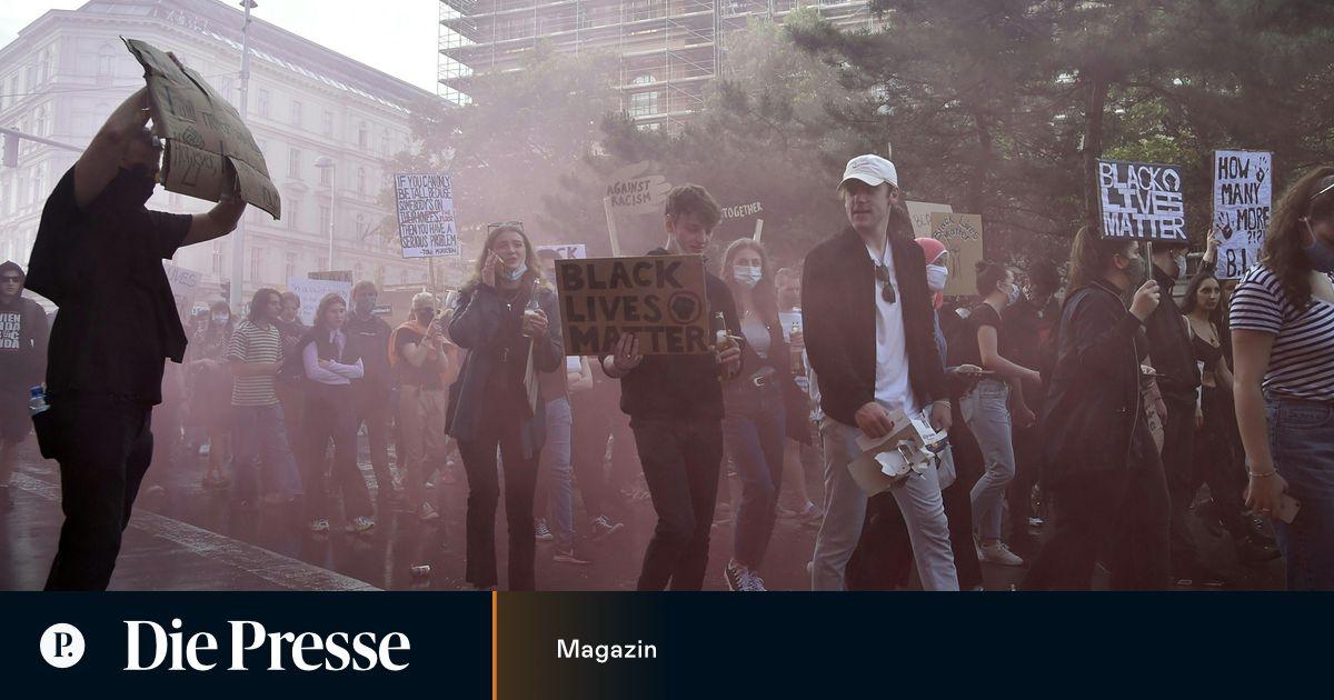"""""""Black Lives Matter"""" in Wien: Zehntausende gegen…"""