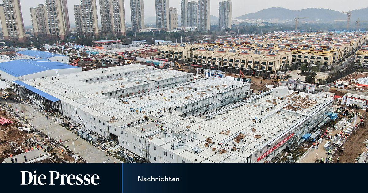 china neues krankenhaus