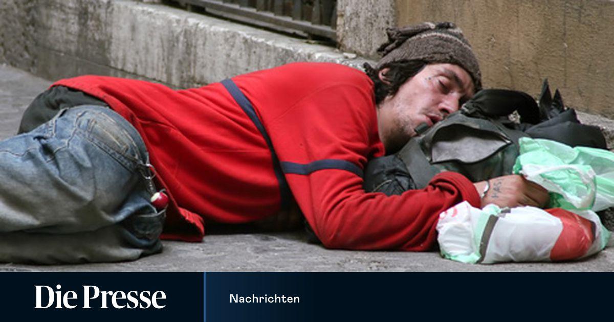 Ungarn Obdachlose