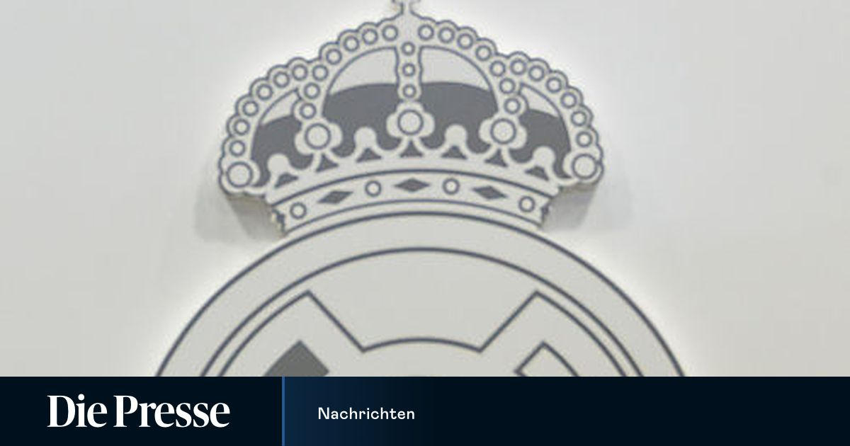 Real Madrid Wappen Kreuz