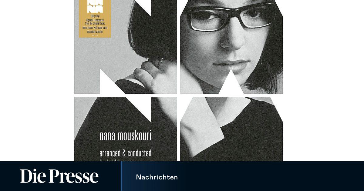 Makellos Nana Mouskouri Neu Arrangiert Diepressecom