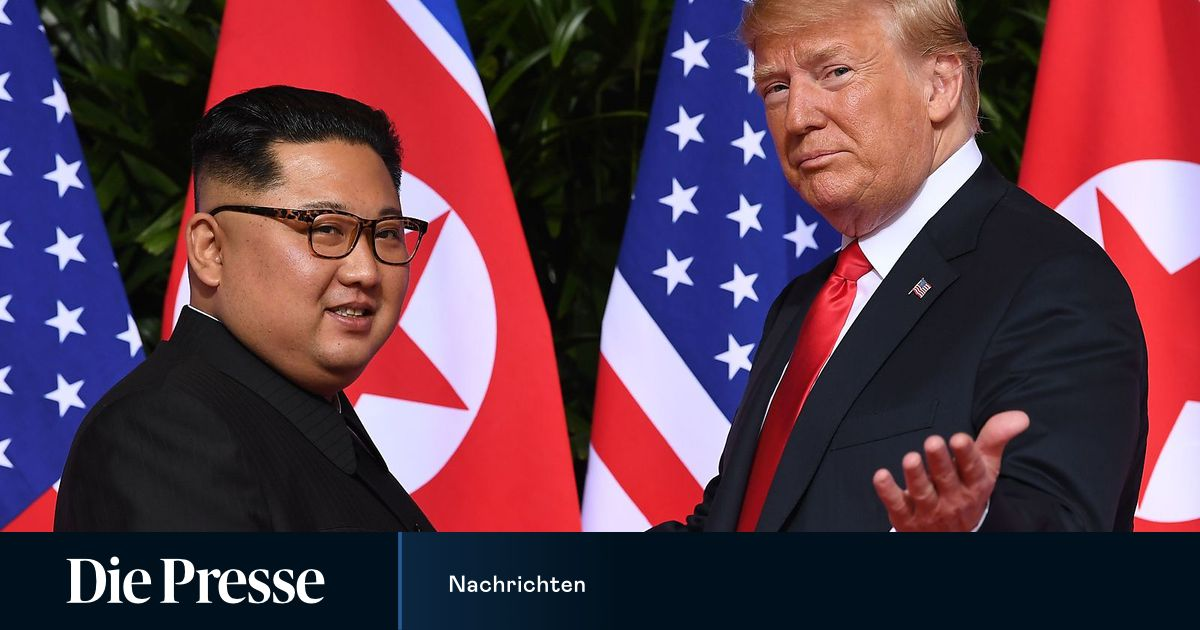 Nachrichten Trump Nordkorea