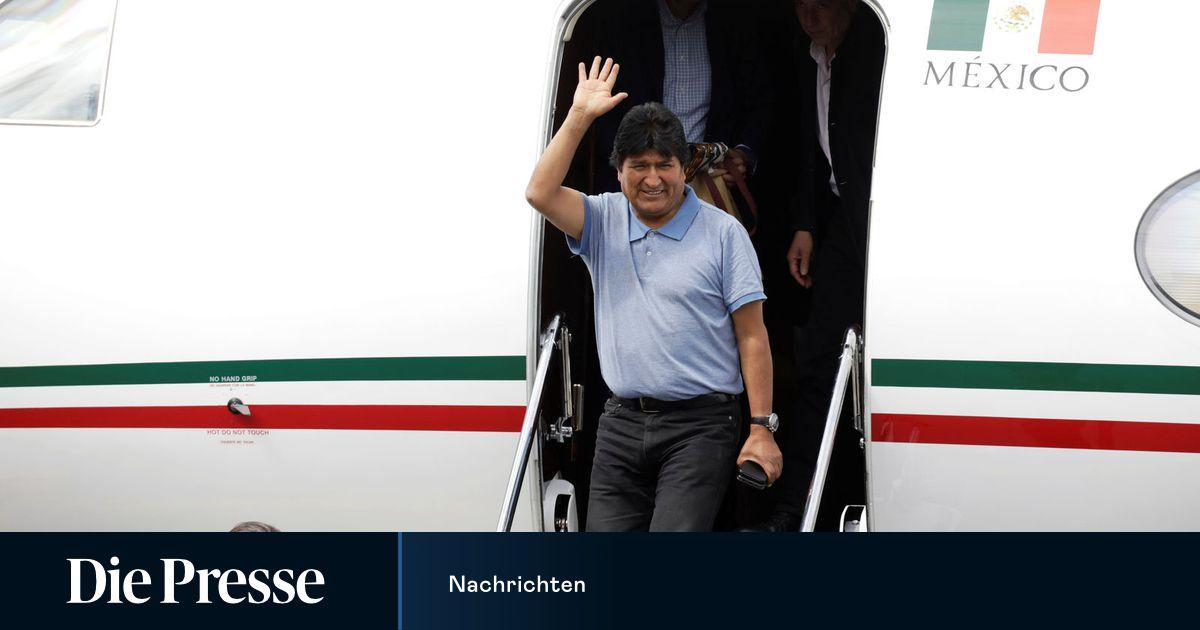 Boliviens Ex-Präsident Morales im mexikanischen Exil angekommen