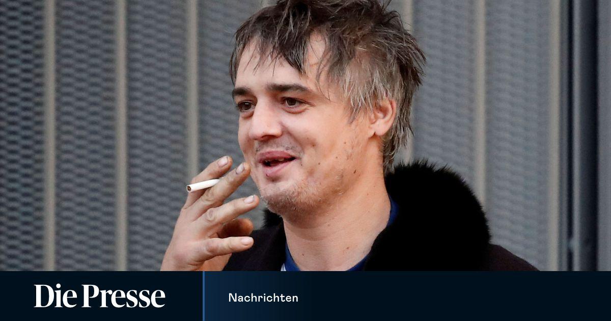 Pete Doherty in Paris zu Freiheitsstrafe auf Bewährung verurteilt