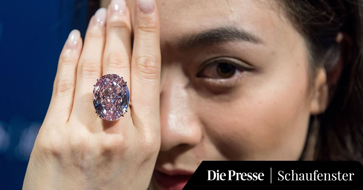 teuerster diamant der welt 71 2 mio dollar f r den pink. Black Bedroom Furniture Sets. Home Design Ideas