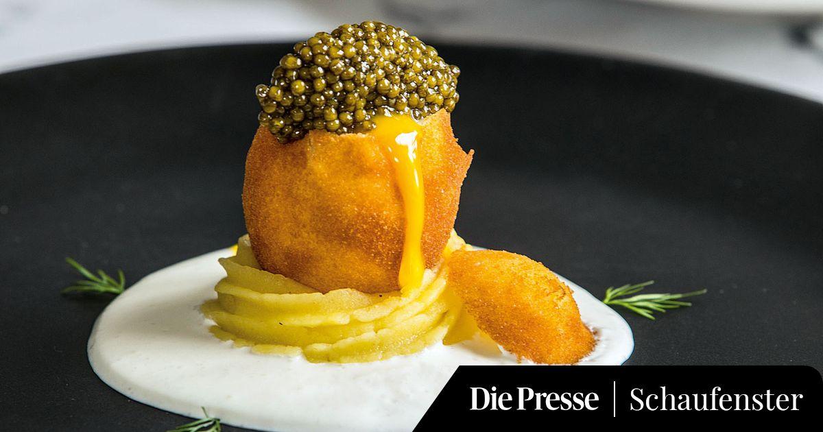 Rezept kaviar ei - Eier kochen ohne anstechen ...